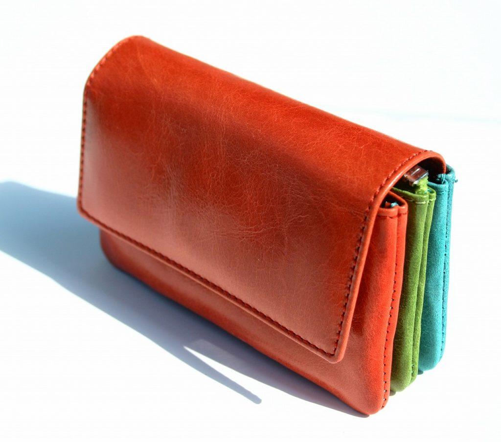 三色財布 ミニ財布 運気アップ