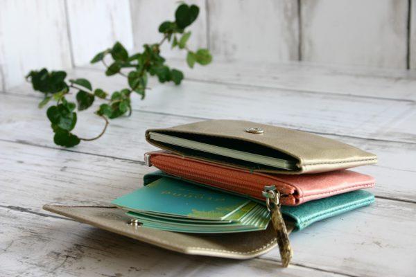 ミニ財布 カード入れ 春の新色