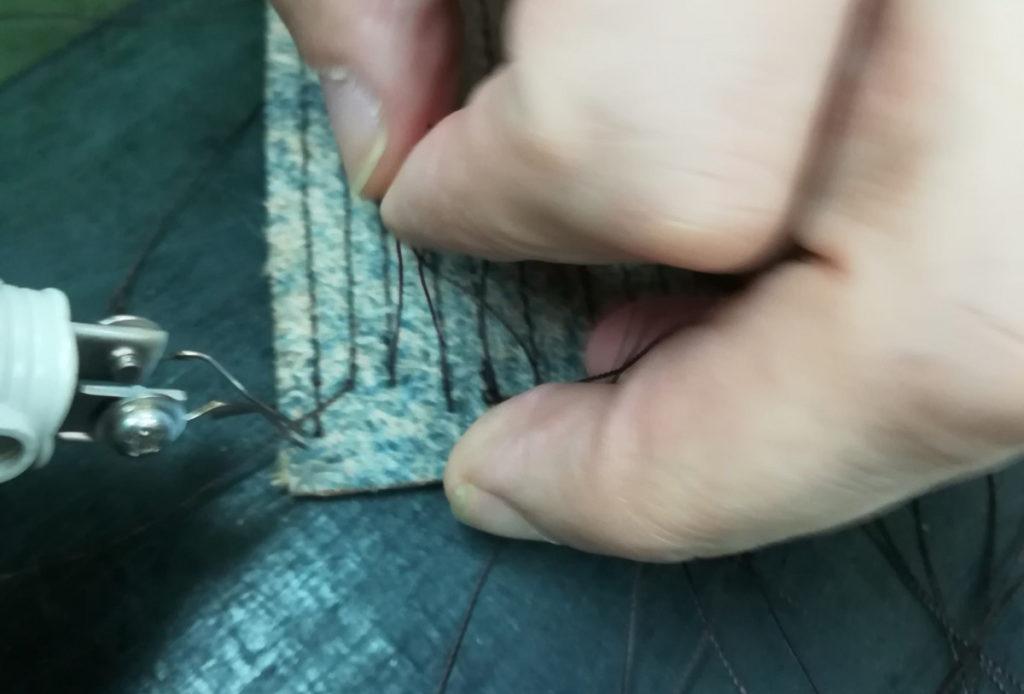 焼きペン処理