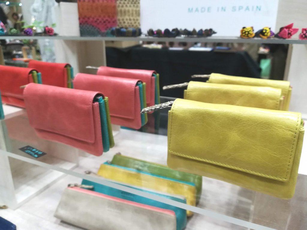 色彩り豊かなミニ財布