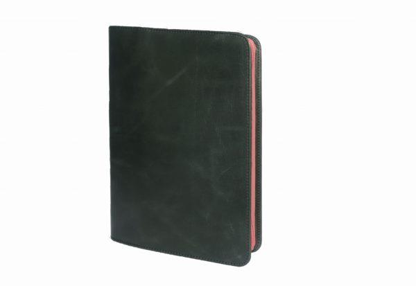 クラッチバッグ ノートカバー式ツートンバッグ イングリッシュとピンク